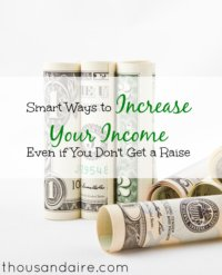 increasing your income tips, ways to increase your income, tips to increase your income