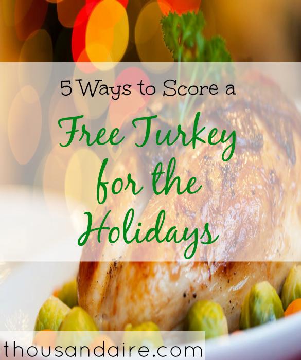 Thanksgiving 2017, free turkey, purchasing turkey