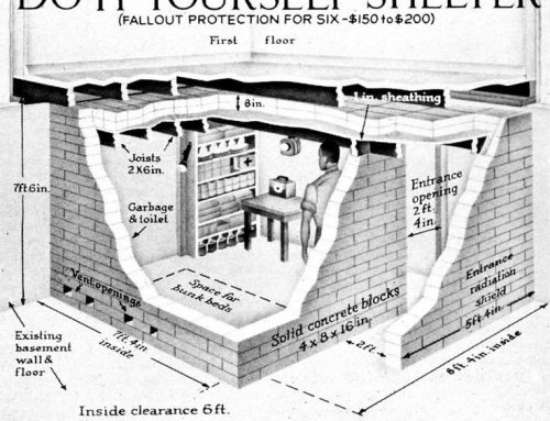 Climate Change or Fallout Got You Worried? Build an Underground Shelter!
