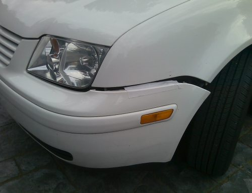 How To Use $6 Black Gorilla Tape to Fix Minor Bumper Damage