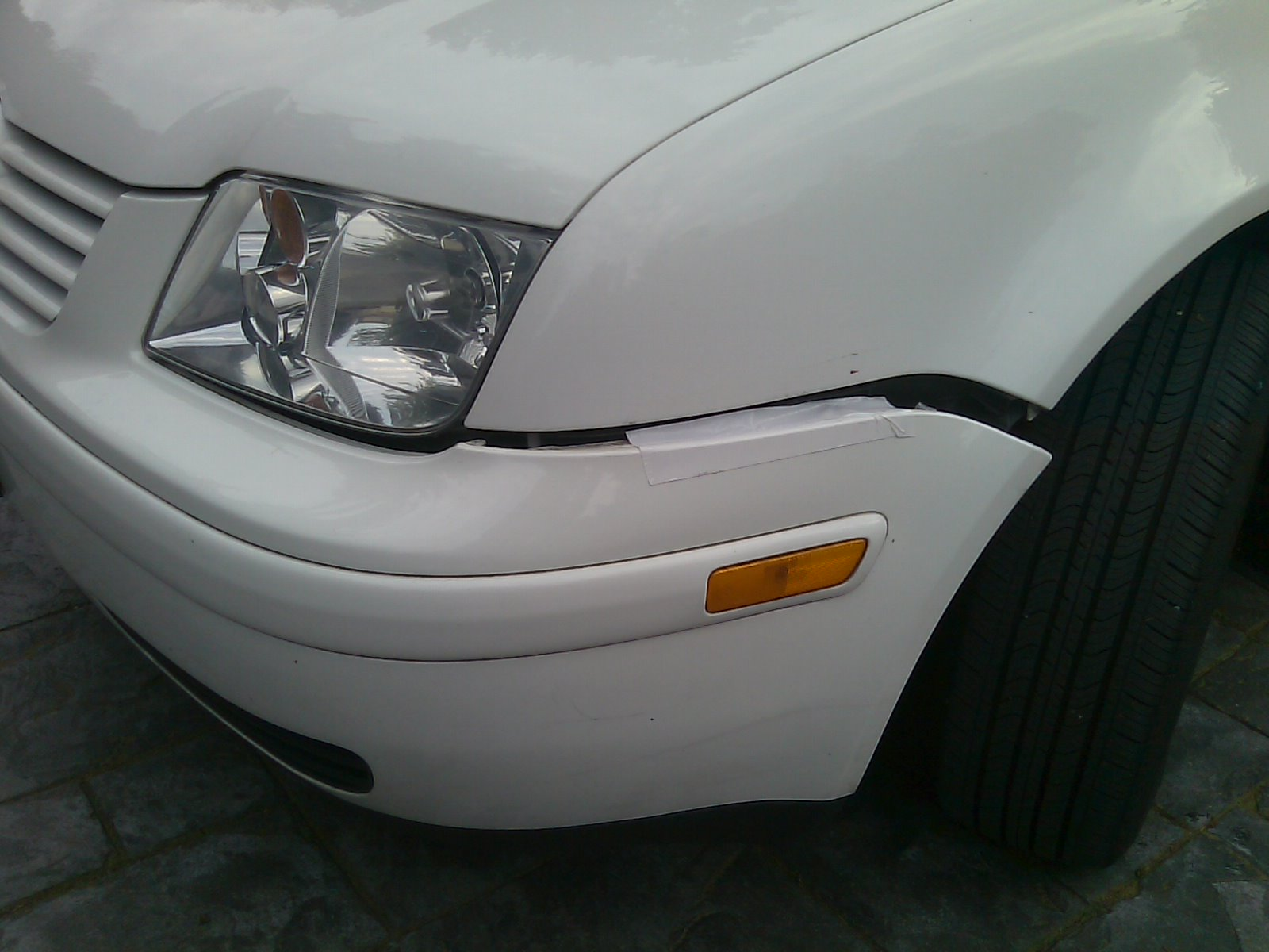 Black Gorilla Tape To Fix Car Dents And Dings