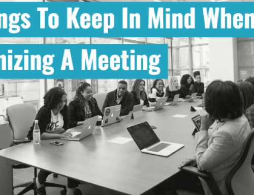 5 Things To Keep In Mind When Organizing A Meeting